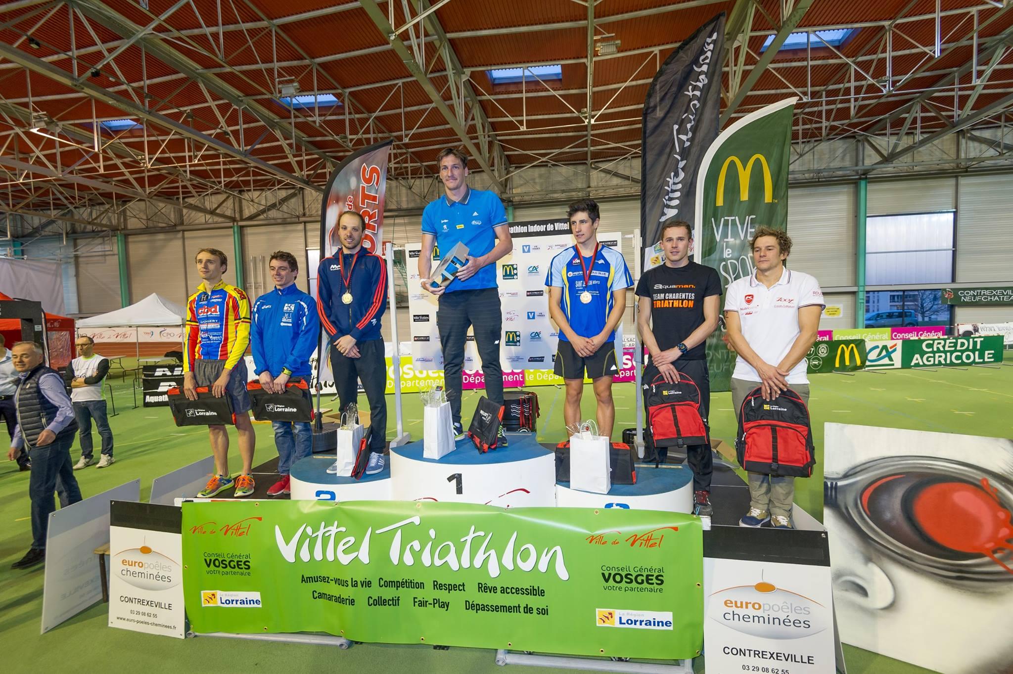 Aquathlon de Vittel: tous les résultats