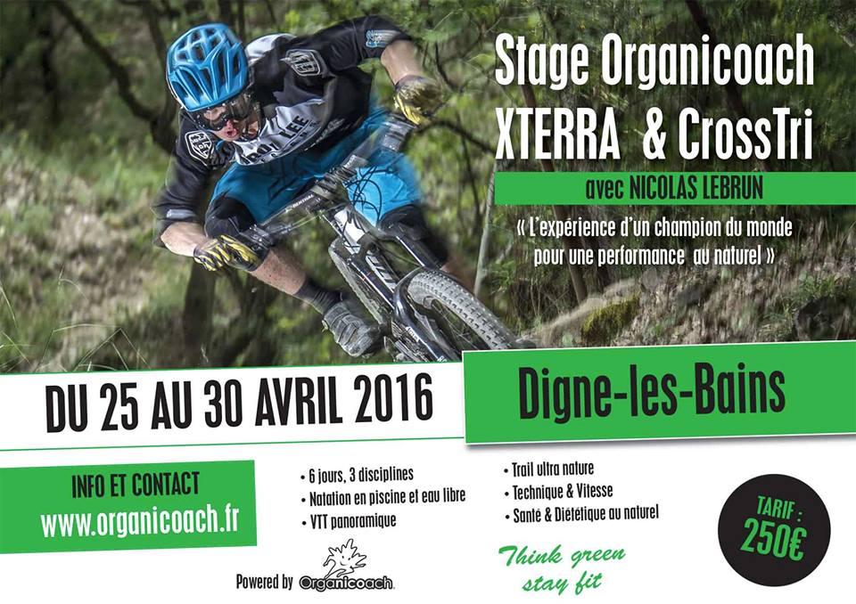 Stage Cross Triathlon Digne-les-bains