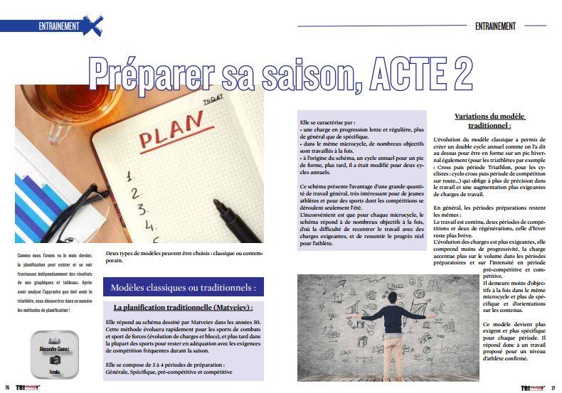 A ne pas manquer dans TrimaX#150 : Préparer sa saison, ACTE 2