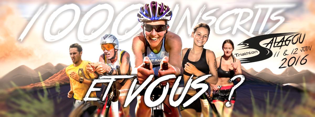Triathlon du Salagou: Faites vous parti des 1000 inscrits ?