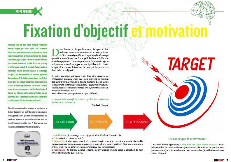 Découvrez dans TrimaX#150 : Fixation d'objectif et motivation