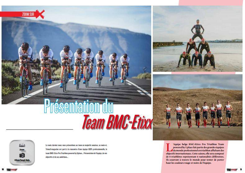 TrimaX#150 vous présente Team BMC-Etixx