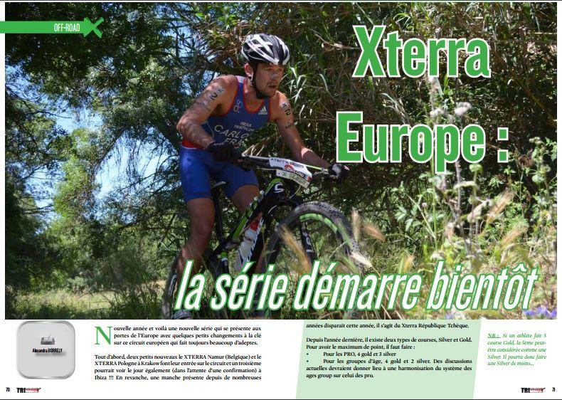 Xterra Europe : la série démarre bientôt à lire dans TrimaX#150