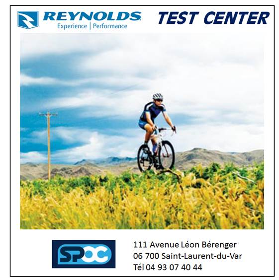 Un Reynolds Test Center permanent chez SPOC (06)‏