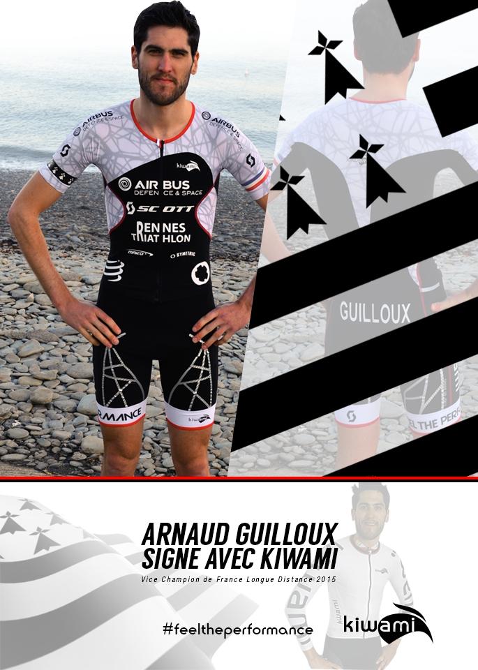 Arnaud Guilloux signe avec Kiwami