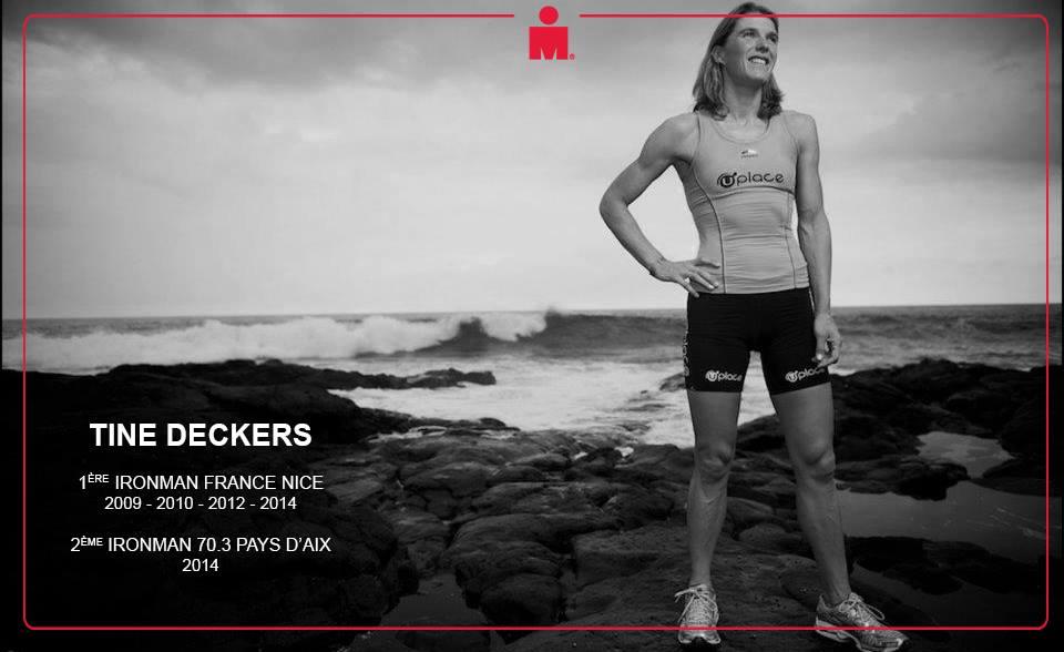 Ironman 70.3 Pays d'Aix: Tine Deckers : «L'envie de gagner»