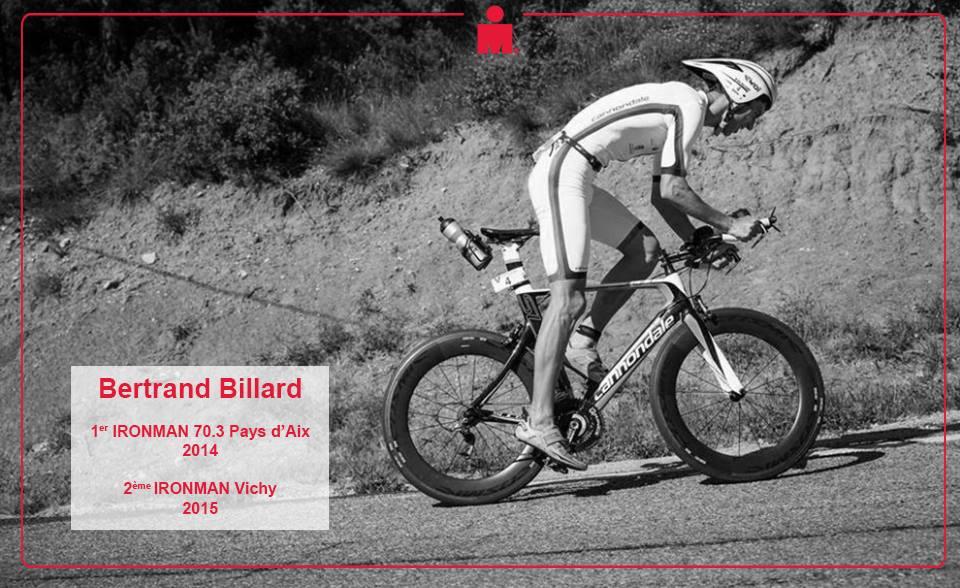 Bertrand Billard : «Impatient de courir pour le Triathl'Aix à domicile»