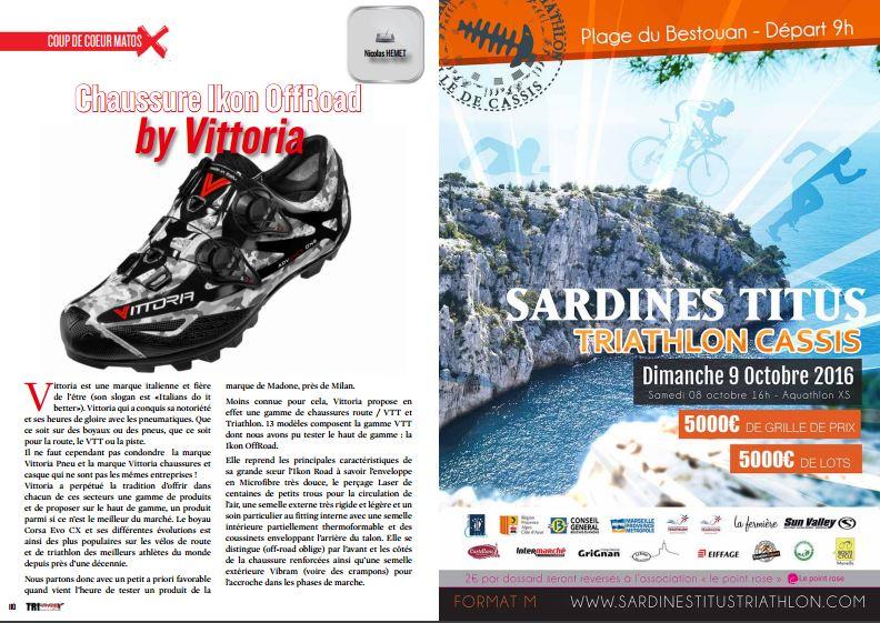 Découvrez le coup de coeur de TrimaX#151 : Chaussure Ikon OffRoad by Vittoria