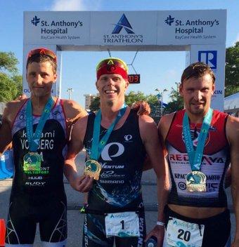 Triathlon M de St.Anthony: Von Berg 3ème