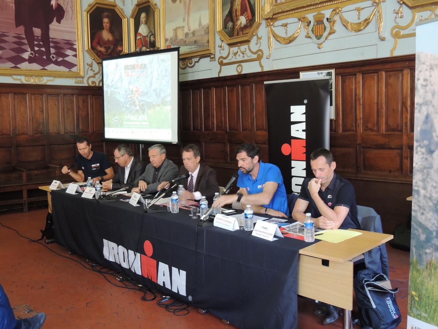 IRONMAN 70.3 du Pays d'Aix: la conférence de presse