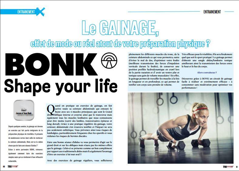 A lire dans TrimaX#151 : Le GAINAGE, effet de mode ou réel atout de votre préparation physique ?