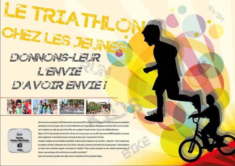 A ne pas manquer dans TrimaX#151 : le triathlon chez les jeunes