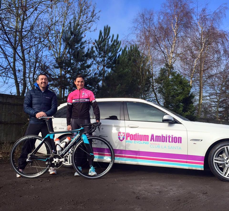 BOARDMAN BIKES devient le fournisseur officiel de l'équipe cycliste professionnelle PODIUM AMBITION PRO CYCLING TEAM BY CLUB LA SANTA