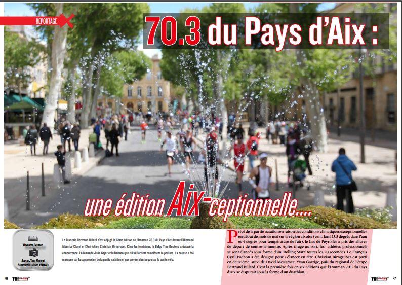 A découvrir dans TrimaX#152 le 70.3 du Pays d'Aix : une édition Aix-ceptionnelle….