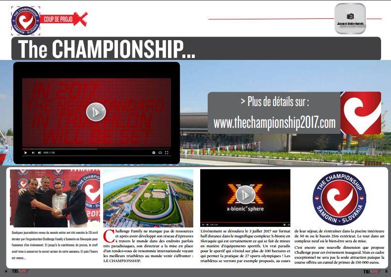 TrimaX#152 vous présente The CHAMPIONSHIP…