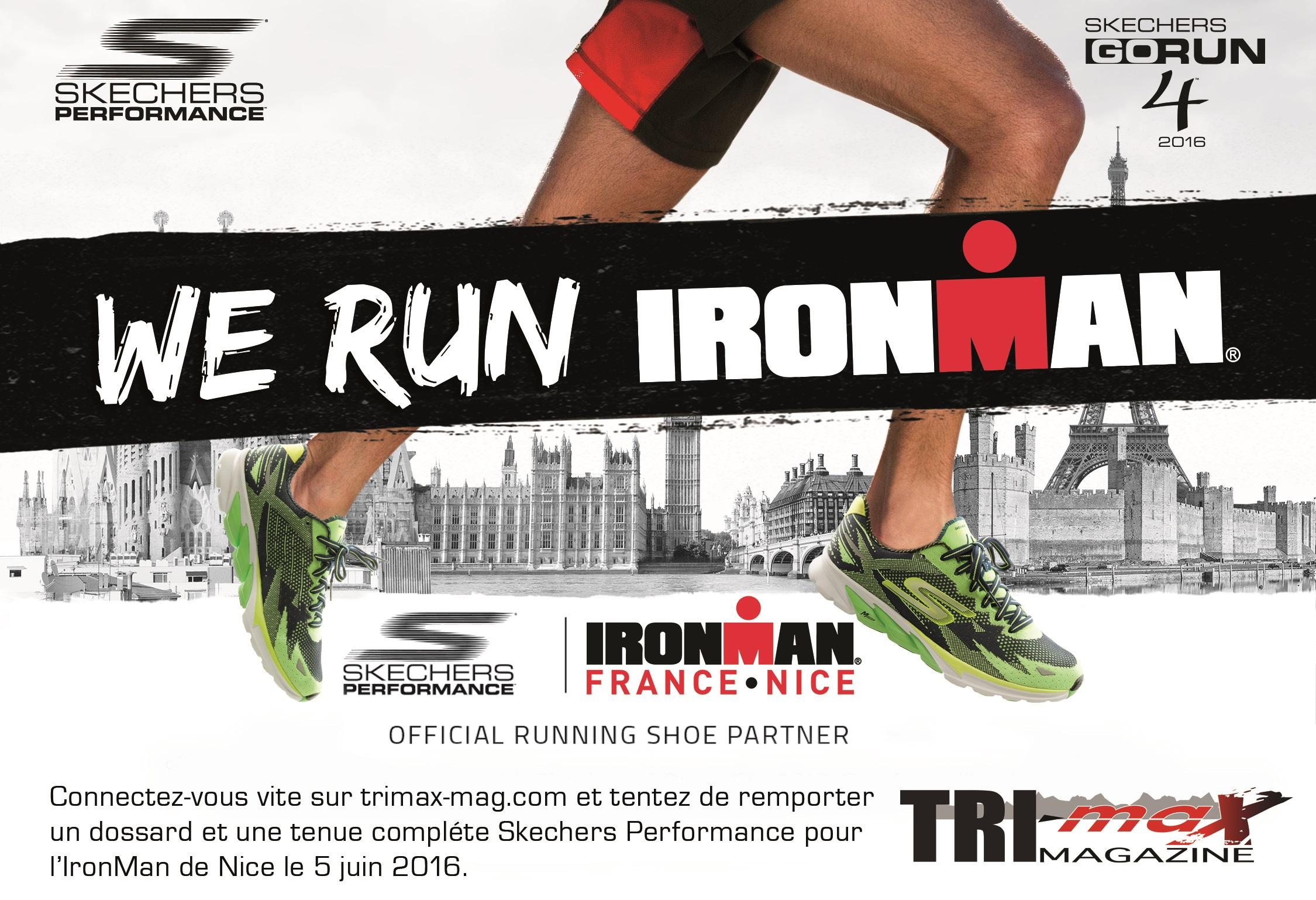 Gagnez le dernier dossard pour l'Ironman France avec TRI-Max Magazine et Skechers