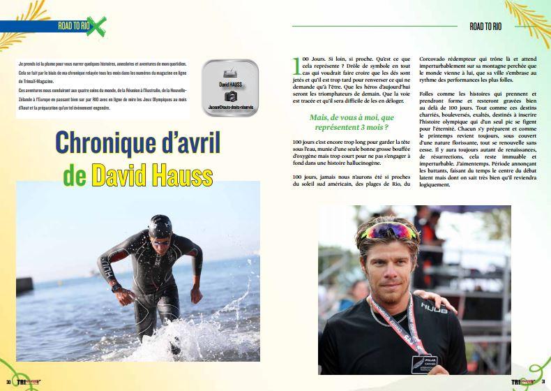 Découvrez dans TrimaX#152 la chronique d'avril de David Hauss