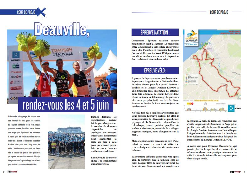 TrimaX#152 vous donne rendez-vous à Deauville, les 4 et 5 juin