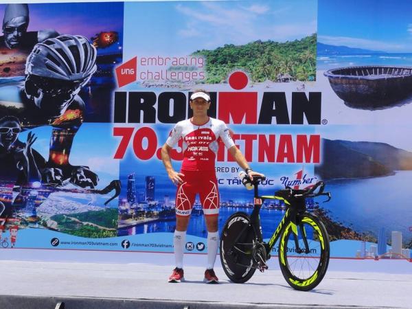 Cyril Viennot : étape en Asie IRONMAN 70.3 Vietnam