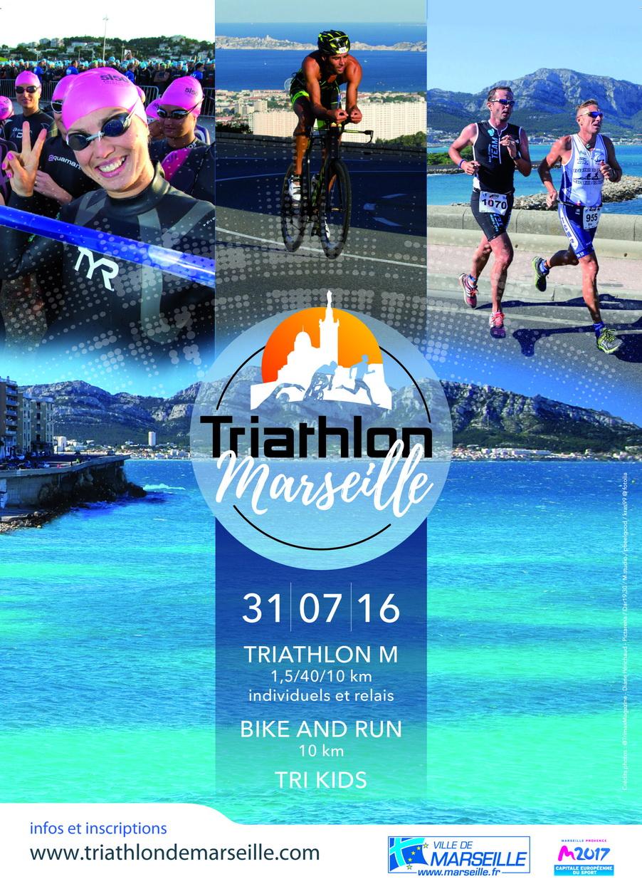 Triathlon de Marseille nouvelle formule