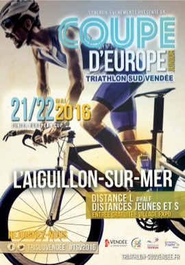 J-2 TRIATHLON SUD VENDÉE – JUNIOR EUROPEAN CUP – L'AIGUILLON SUR MER