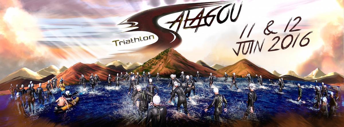 Triathlon du Salagou: En route vers l'évènement