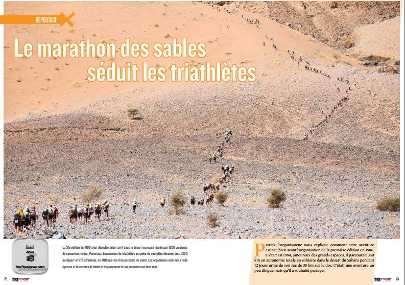 TrimaX#152 revient sur le marathon des sables qui séduit les triathlètes
