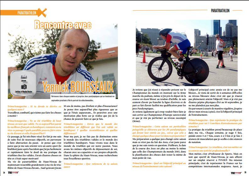 TrimaX#152 a rencontré avec Yannick BOURSEAUX