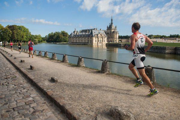 Triathlon de Chantilly - visuels d'ambiance château