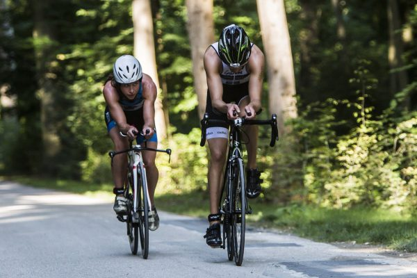 Triathlon de Chantilly - visuels d'ambiance vélo