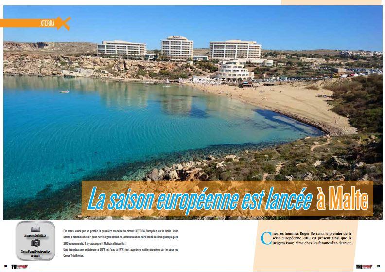 La saison européenne est lancée à Malte, à revivre dans TrimaX#152