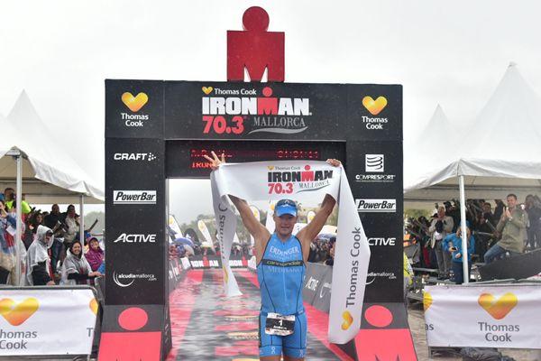 Ironman 70.3 Mallorca: 3 à la suite pour Dreitz