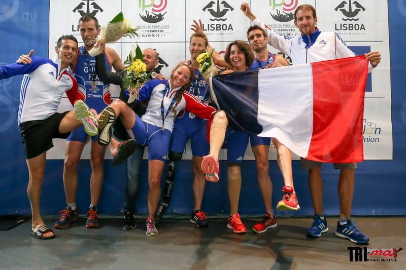 La belle moisson du triathlon français à Lisbonne