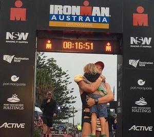 Ironman Australie par Simon Billeau