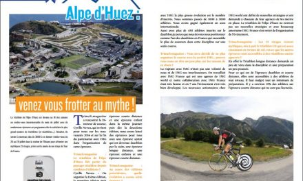 Alpe d'Huez : venez vous frotter au mythe ! à lire dans TrimaX#153