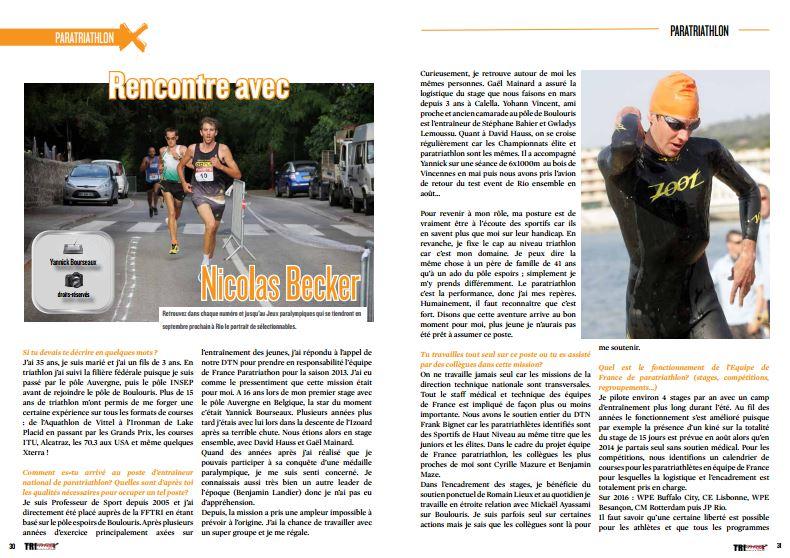 TrimaX#153 a rencontré Nicolas Becker