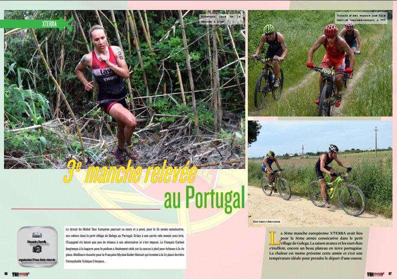 Retour avec TrimaX#153 sur la 3ème  manche relevée au Portugal