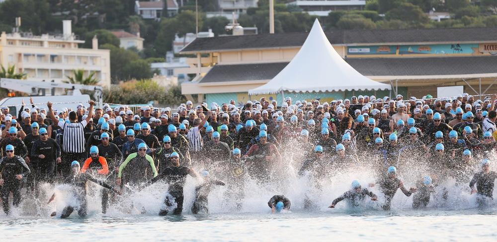 Triathlon de Marseille : Anthony Pujades et Charlotte Morel sont à l'heure!