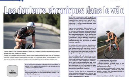 A lire dans TrimaX#154 :  Les douleurs chroniques dans le vélo