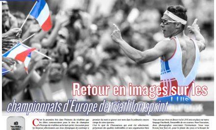 Retour en images sur les championnats d'Europe de triathlon sprint dans TrimaX#154