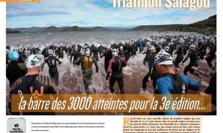 Retour avec TrimaX#154 sur le Triathlon Salagou où la barre des 3000 atteintes pour la 3e édition…