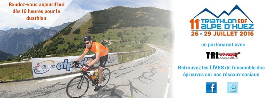 Suivez le LIVE des courses de l'Alpe d'Huez dès aujourd'hui !