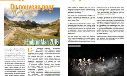 A découvrir dans TrimaX#155 : du nouveau pour l'EmbrunMan 2016