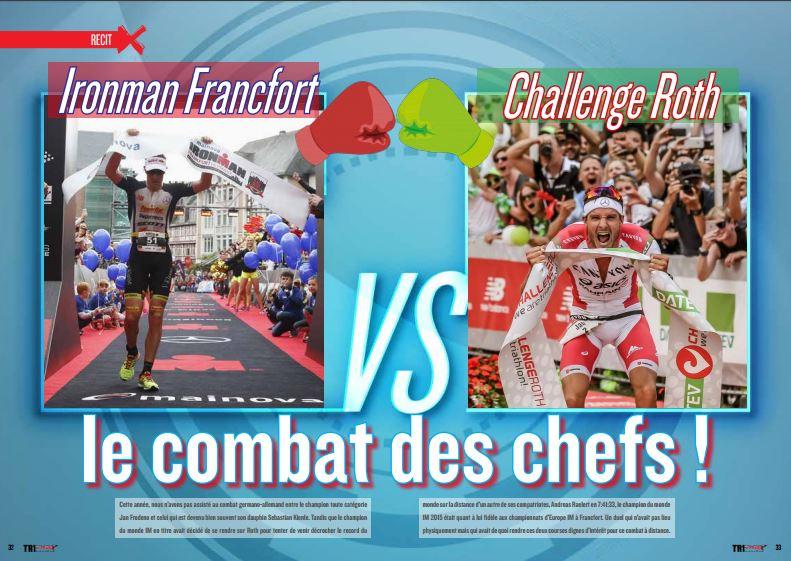 Retour avec TrimaX#155 sur l'Ironman Francfort VS Challenge Roth : le combat des chefs !