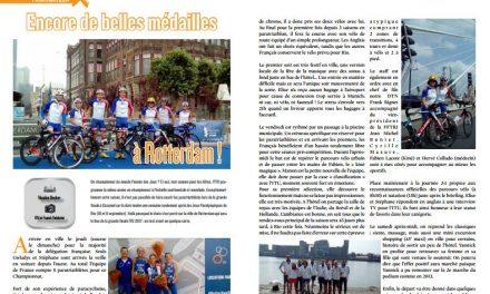 A lire dans TrimaX#155 : encore de belles médailles à Rotterdam !