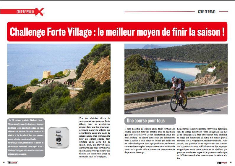 Découvrez dans TrimaX#156 le Challenge Forte Village : le meilleur moyen de finir la saison !
