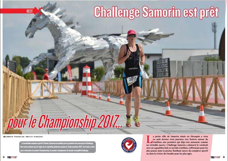 Challenge Samorin est prêt pour le Championship 2017…, c'est à lire dans TrimaX#156