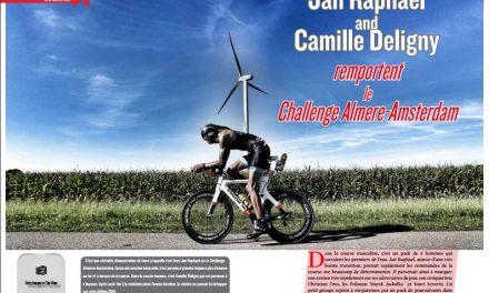 A lire dans TrimaX#157 : Jan Raphael and Camille Deligny remportent le Challenge Almere-Amsterdam