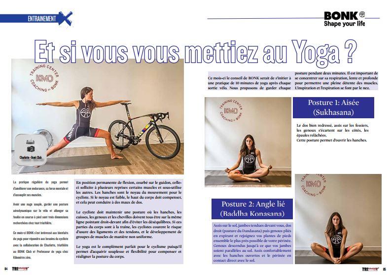 A lire dans TrimaX#157 : Et si vous vous mettiez au Yoga ?