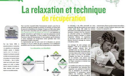 Découvrez dans TrimaX#157 : La relaxation et technique de récupération